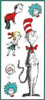 all products home decor wall decor wall decals reading is our cat in the hat dr seuss wall art