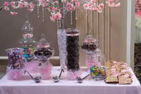 Chocolate Candy Buffet Ideas by My Pink Candy Buffet Weddingbee Photo Gallery