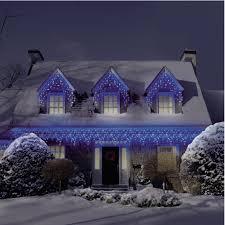 led icicle lights cool white christmas christmas led lights m5 cool white twinkle icicle lights