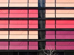 Colored Blinds Giant Pink Hued Blinds Keep Geneva U0027s Coral House Pretty And Cool