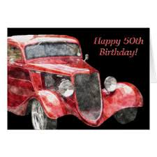 classic cars greeting cards zazzle