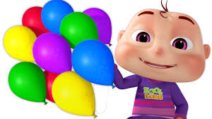Halloween Birthday Balloons by Five Little Babies Blowing A Balloon And Many More Baby Songs