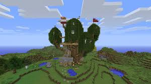 Adventure Time Tree House Minecraft Project