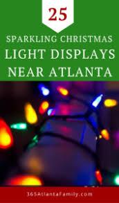 25 sparkling light displays near atlanta