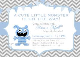 Cookie Monster Baby Shower Decorations Printable Monster Baby Shower Invitations Zone Romande Decoration