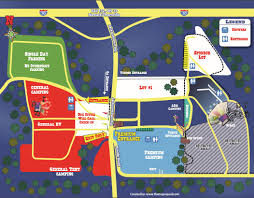 Central Ohio Map by Venue Map Legend Valley Festivals Central Oh Columbus Oh