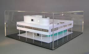 the model of the villa savoye