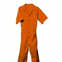 orange jumpsuit unicor shopping s sleeve jumpsuit orange
