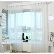 rideau pour fenetre chambre rideaux de tulle pour chambre blanche rideaux de fenêtre largeur de
