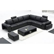 Leather Corner Sofa Beds by Black Color L Shape Leather Corner Sofa For Furniture Al330