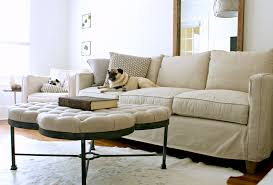 Contemporary Sofa Slipcover Glamorous Sofa Slipcover In Living Room Contemporary With White