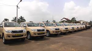 us toyota u s donates toyota trucks and military equipment in fight against