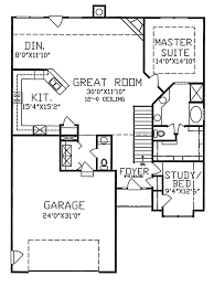traditional house plan first floor 086d 0051 house plans and more