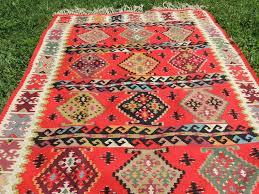 Persian Kilim Rugs by Red Balkan Kilim Rug U2013 Bosphorus Rugs