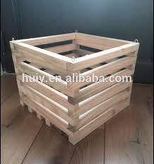 square slat wooden garden planter timber planter boxes buy wood