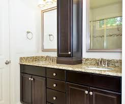 Vanity With Storage Enchanting Double Vanity With Center Tower And Master Bathroom