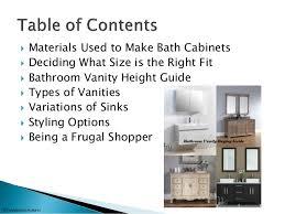 the ultimate bathroom vanity buying guide