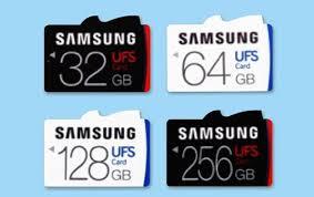 Memory Card Samsung 256gb samsung introduces world s universal flash storage ufs