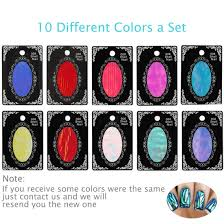 amazon com btartbox 10 packs mixed color reflective mirror
