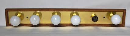 Oak Vanity Light Vintage Oak Bathroom Vanity Light Fixture With 6 Bulbs Best
