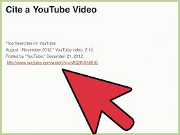 how to write an interview paper in apa format 4 ways to cite a youtube video wikihow