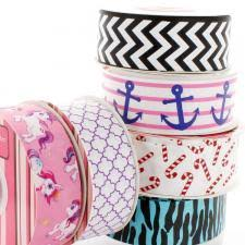 printed grosgrain ribbon printed ribbon