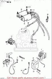 suzuki gs550 1980 t usa e03 electrical schematic partsfiche