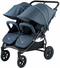 Rugged Stroller Valco Neo Twin Tailormade Double Stroller Denim Blue