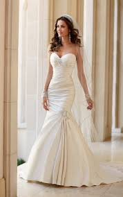 fit and flare wedding dress wedding dresses strapless fit and flare wedding dress stella york