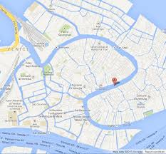 location canap where is grand canal on map of venice