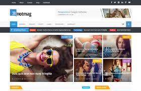 hotmag responsive premium blogger template free download