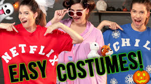 Easy T Shirt Halloween Costumes by Diy Last Minute Halloween Costume Ideas Spooktacular W Marissa