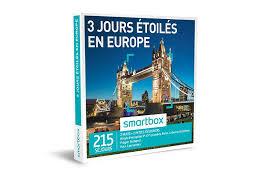 coffret smartbox table et chambre d hote coffret cadeau 3 jours étoilés en europe smartbox