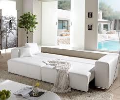 sofa weiãÿ gã nstig polstermöbel mit schlaffunktion und bettkasten rheumri