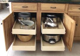 Pull Out Cabinet Shelves by Pull Out Cabinet Drawers U Design Blog
