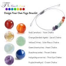 solar plexus chakra location tl 7 chakra healing balance beads bracelet 6mm yoga bracelet stone