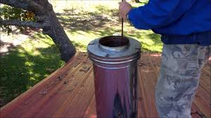 diy chimney sweeping clean your own chimney youtube