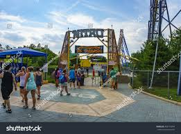 Six Flags In Usa New Jersey Usa June 20 2016 Stock Photo 462147244 Shutterstock