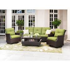 Sams Club Patio Furniture Member U0027s Mark Carnaby Deep Seating 4 Piece Set With Premium