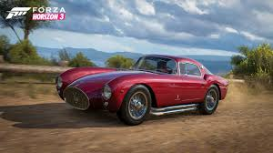vintage maserati vintage classics headline the latest forza horizon 3 car reveal