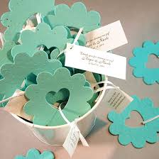 flower seed wedding favors of plantable wedding favor 50 plantable seed