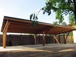 tettoia auto legno tettoia di legno modulare per quattro posti auto r04310