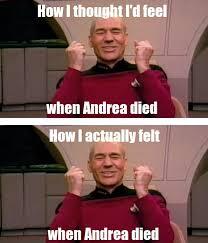 Meme Andrea - walking dead zombies andrea lol meme funny yes i did a happy