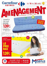 Couette 240x220 Carrefour Carrefour Milenis Amenagement Du 18 Au 30 Avril 2017 By