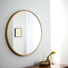 Mirror Bathroom Light Brass Mirror Bathroom Light Metal Framed Wall West Elm