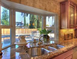 Kitchen Sink Window Ideas Mini Bay Window The Kitchen Sink With Shelvinga