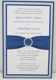 Bling Wedding Invitations Multi Layer Wedding Invitations With Glitter Ribbon And
