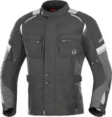 motorcycle touring jacket buse touring b60 büse breno black anthracite jackets textile
