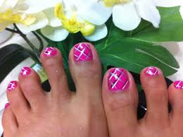 how to do plate on toe nails youtube