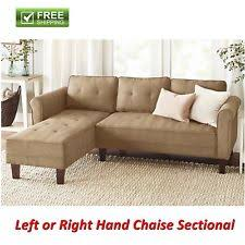 Microfiber Sectional Couch With Chaise Microfiber Sectional Sofas Loveseats U0026 Chaises Ebay